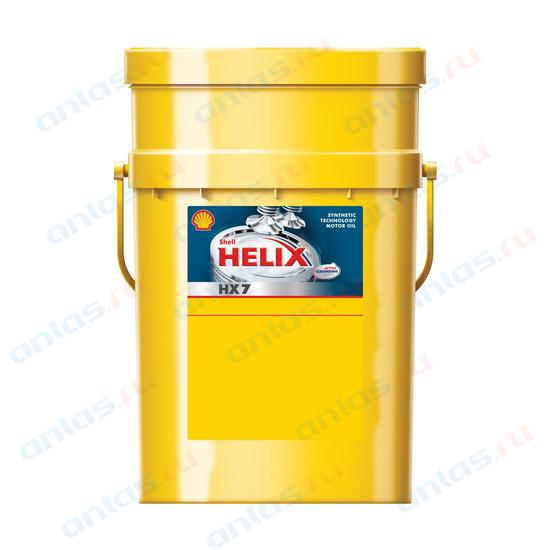 SHELL 10W-40 HX7 Plus Синее п/синт - 20л