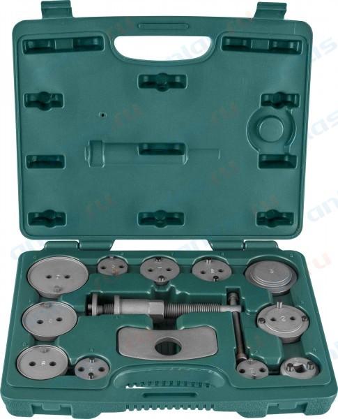 Комплект для развода поршней тормозных цилиндров 13пр. JW