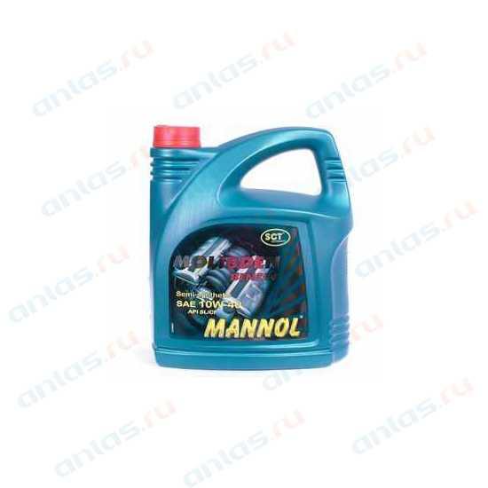 MANNOL 10W-40 MOLIBDEN BENZIN SL/CF п/синт - 4л