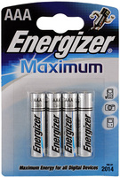 Элемент питания Energizer Maximum LR03 - купить еnergizer Maximum LR03