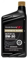 HONDA 5W-30 Synthetic Blend SN 1л - купить HONDA 5W-30 Synthetic Blend SN 1л